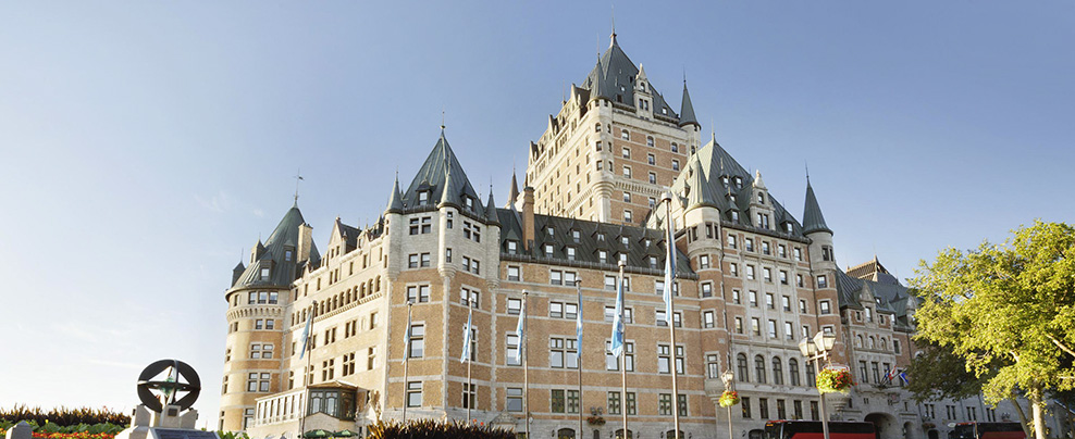 Have your most beautiful fall getaway at the Fairmont Hotels in Quebec