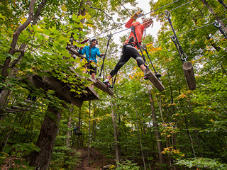 Sommet Morin Heights' Acro-Nature - Laurentians