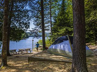 C&ground at parc national du Mont-Tremblant - Laurentians & Campground at parc national du Mont-Tremblant