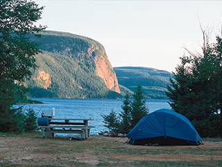 Campground at réserve faunique de Port-Cartier–Sept-Îles