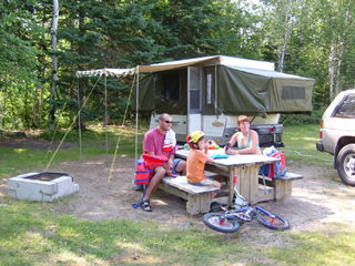 Mont-Sainte-Anne - Campground
