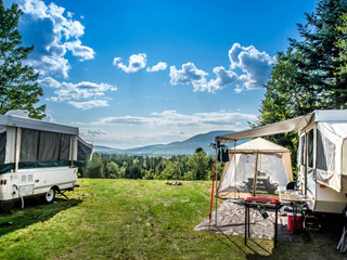 Campground at Village Vacances Valcartier