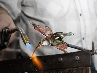 Verrerie d'art Touverre - Glass Blowing and Gemstone Cutting Economuseum