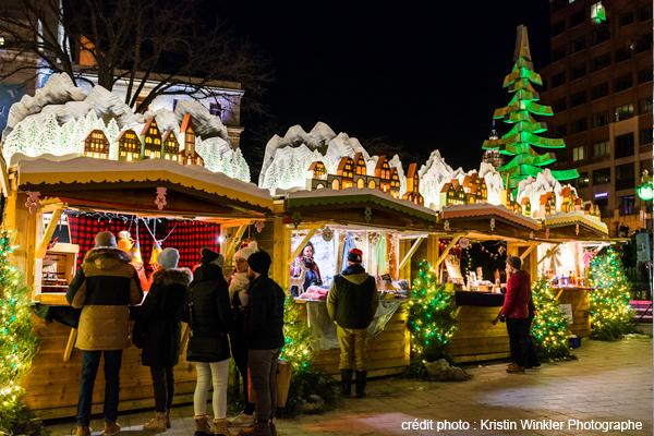 German Christmas Market Québec City