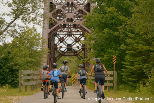 Jacques-Cartier/Portneuf Cycling Path
