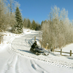Snowmobile Rising Sun Package