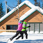Staying with Us? Free Cross-Country Skiing!