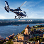Helicopter Tour : Bird's eye view of Québec
