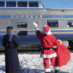 Special Christmas Train for kids