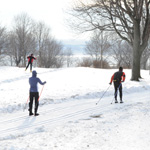 Cross-country skiing and snowshoeing