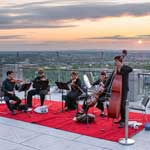 Sunshine and Music : concerts on the mezzanine terrace
