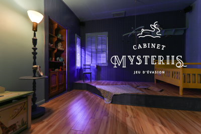 Cabinet Mysteriis - Québec City Escape Room Passport