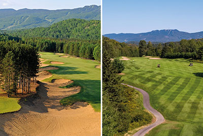 Tremblant Passport 9 – Golf Le Diable and Golf La Bête