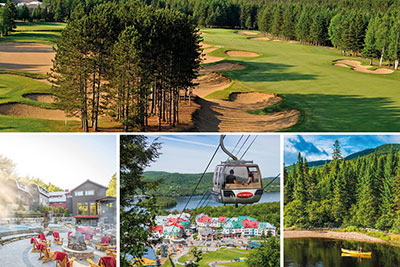 Tremblant Passeport 10 – Golf Le Diable and Spa Scandinave