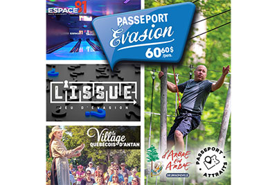 D'Arbre en arbre Drummondville - Escape Passport