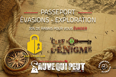 Sauve Qui Peut – Saint-Jean /Escape – Exploration Passport
