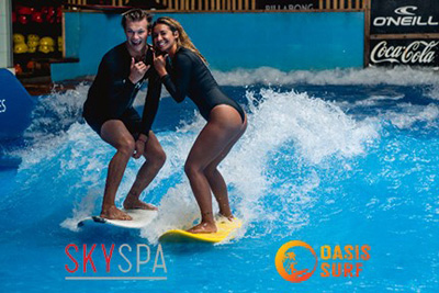 Oasis Surf - Meal, Surf and Spa Passport