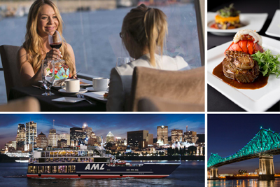 AML Cruises - 5-course dinner cruise Passport