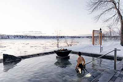 Strøm nordic spa - Winter Activities in Quebec City Passport