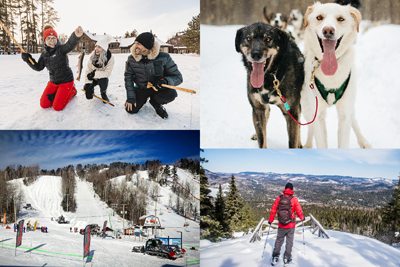 Auberge du Lac Taureau - Passport 1: Dogsledding, ski and more!