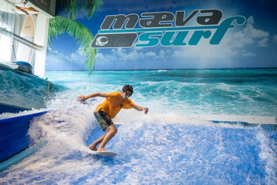 Maeva Surf - Fly away, visit space and surf to the MAX in Laval Passport