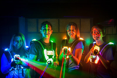 Laser Force Drummondville - Action for families Passport