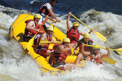 Rafting Nouveau Monde - Discover Rafting in Quebec Passport