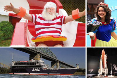 Croisières AML - Santa Claus, Alice,  Spaceship and Escape Passport