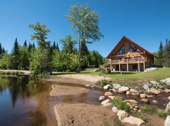 The soothing peacefulness of nature at Au Chalet en Bois Rond