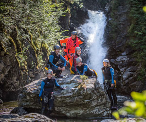 Canyoning with Eskamer