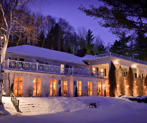 Manoir Hovey is an amazing place in the Eastern Townships