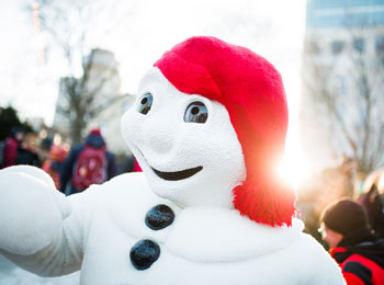 See the reinvented Carnival in Québec City! ©Audetphoto