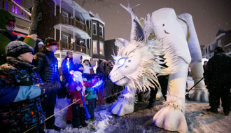 Celebrate winter at the Parade ©fredphotovideo
