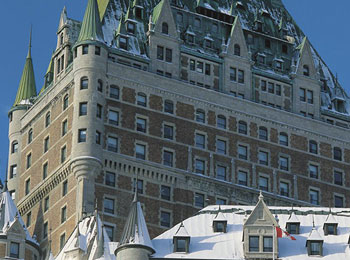 Escape to Fairmont Le Château Frontenac for a fun winter getaway!