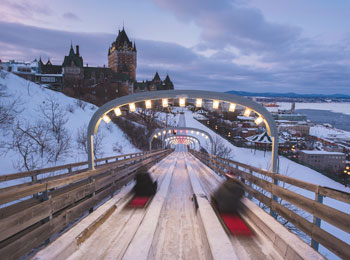 Find all sorts of activities near the Château Frontenac