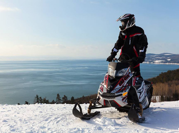 Snowmobile - Fairmont Manoir Richelieu