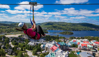 Mont Tremblant is the ideal sport for all sorts of activities!