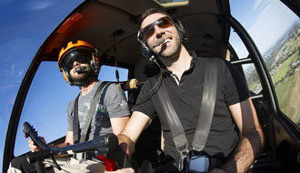 Become a pilot for a day at GoHelico!