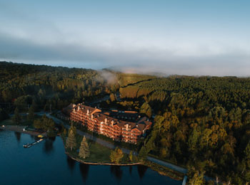 Plan a getaway to the Grand Lodge Mont-Tremblant!