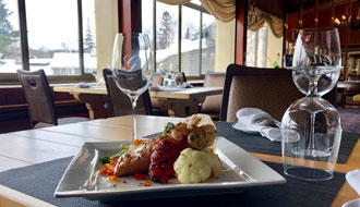 Taste fine dining in the Laurentians