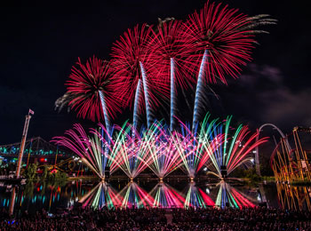 Dazzling evenings at the International des Feux Loto-Québec fireworks shows