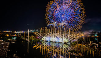See the most recent innovations in the field of pyrotechnics