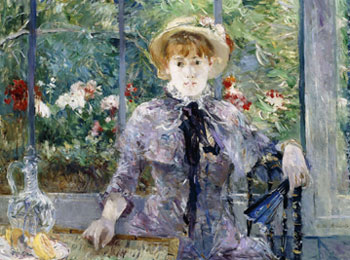 Berthe Morisot, After Luncheon, 1881. Oil on canvas, 81 x 100 cm. Larry Ellison Collection.