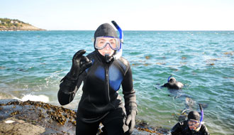Try Nordic snorkelling!