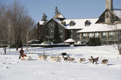 Next stop: a winter paradise at Fairmont Le Château Montebello