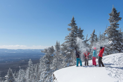 It's the Season of Winter Activities in the Eastern Townships!