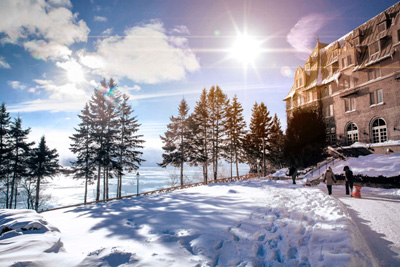 Start the year under the best auspices at Fairmont Le Manoir Richelieu