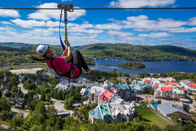 An exceptional vacation thanks to the Fairmont Hotels in Montebello and Tremblant