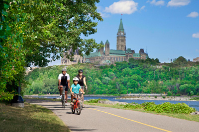 Gatineau, a City for Biking