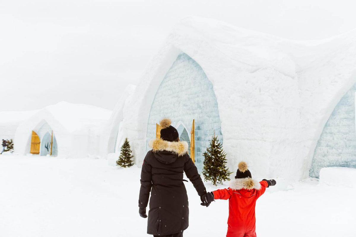 A unique winter experience at the ice hotel